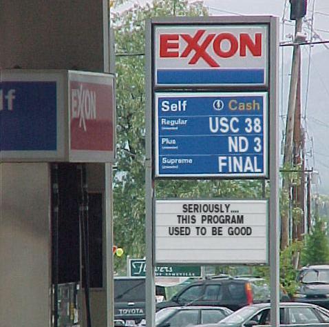 Notre Dame Gas Station